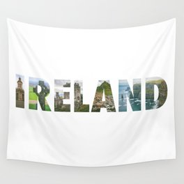 Views from Ireland Wall Tapestry
