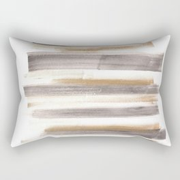 [161216] 12. Shades |Watercolor Brush Stroke Rectangular Pillow