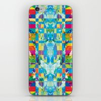 glitch iPhone & iPod Skins featuring glitch by Xenia Pirovskikh