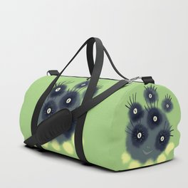 Creepy Cute Spider Face Monster Duffle Bag