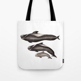 Short-finned pilot whale (Globicephala macrorhynchus) Tote Bag