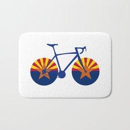 Arizona Flag Cycling Bath Mat