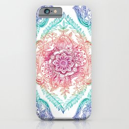 Indian Ink - Rainbow version iPhone Case
