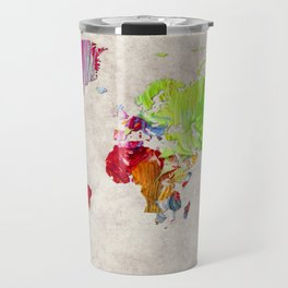 World Map 52 Travel Mug