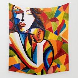 Loving Mom Wall Tapestry