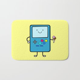 Ice cream lover video game Bath Mat