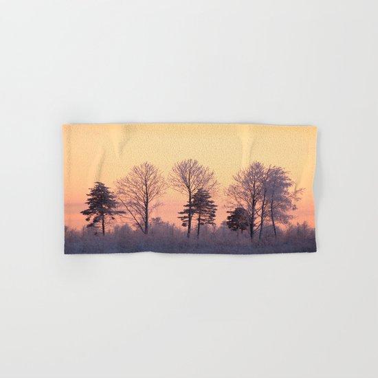 Winter Trees  Hand & Bath Towel