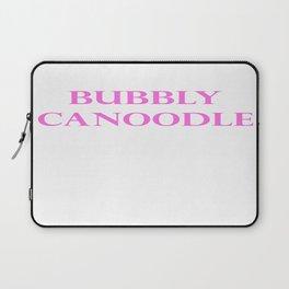 Bubbly Canoodle Laptop Sleeve