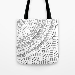 Ornate mandala Tote Bag