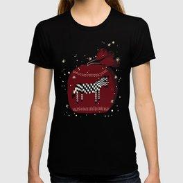 Knitted Zebra Beanie T-shirt