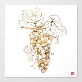 Grapes of Dionysus God of Wine Canvas Print
