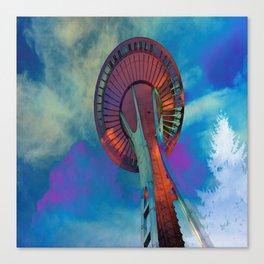 Space Needle 2 Canvas Print