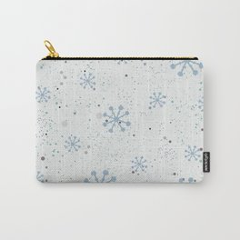 Abstract winter Carry-All Pouch