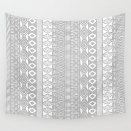Adobe in Grey Wall Tapestry