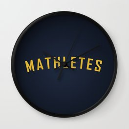 Mathletes - Mean Girls movie Wall Clock