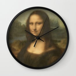 Beauty of Mona Lisa Wall Clock