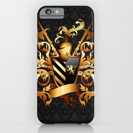 Medieval Coat of Arms iPhone Case