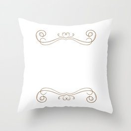Never Underestimate the Power of Chocolate T-Shirt Throw Pillow