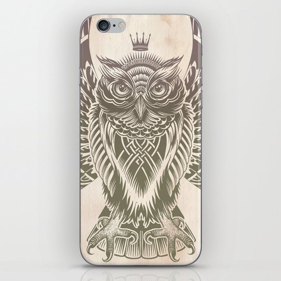 Silent Flight (Owl Wings) iPhone & iPod Skin