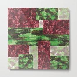 pattern- patchwork Metal Print