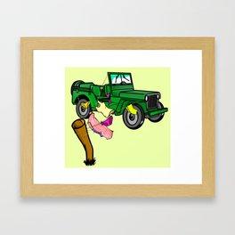 4WD Framed Art Print