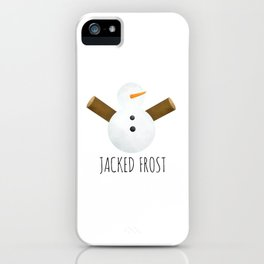 Jacked Frost iPhone Case