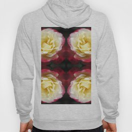 141 - Abstract Flowers Hoody