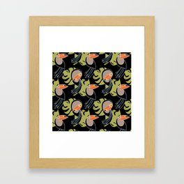 Toucan Up and Down Framed Art Print