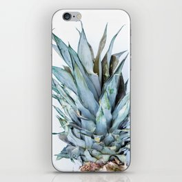 Ananas - Pineapple On A White Background #decor #society6 iPhone Skin