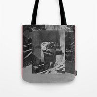 stone Tote Bags featuring Stone by Thrashin