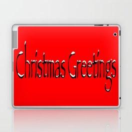 Christmas Greetings Laptop & iPad Skin
