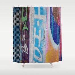graffitti Shower Curtain
