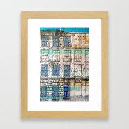 Edinburgh house Framed Art Print