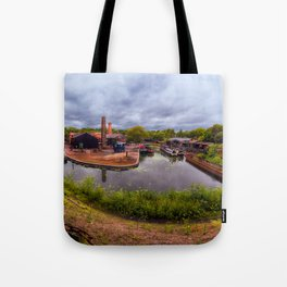Black Country Living Museum Boat Yard Peaky Blinders Tote Bag