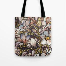 Louis Comfort Tiffany - Decorative stained glass 10. Tote Bag