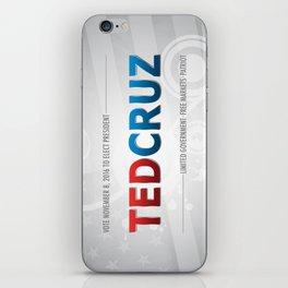 Elect Ted Cruz 2016 iPhone Skin