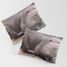 Zwergotter Pillow Sham