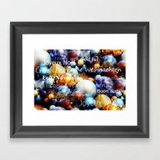 Christmas is coming Framed Art Print
