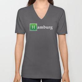 Hamburg Elements Unisex V-Neck