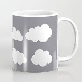Grey clouds on grey winter skies Coffee Mug