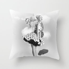 Like a princess Throw Pillow