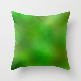 Color gradient and texture 61 dark green Throw Pillow
