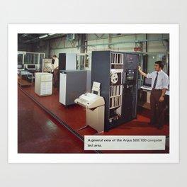 Ferranti Argus 500 Computer System Art Print