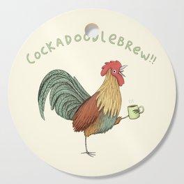 Cockadoodlebrew!! Cutting Board