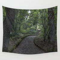 italian Wall Tapestries featuring Italian forest by F130284