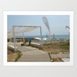 Beaches of Greece Art Print