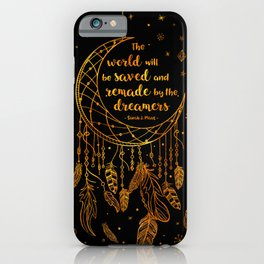 Saved and Remade - gold iPhone Case