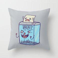 Enjoying your dayjob Throw Pillow