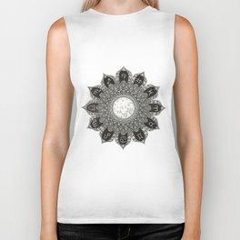 Astrology Signs Mandala Biker Tank