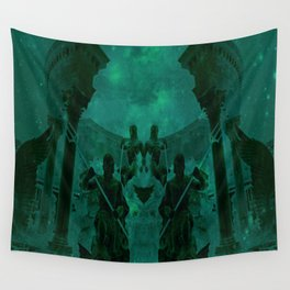 Fight Among the Gods Wall Tapestry